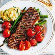 steak daging sapi lada hitam