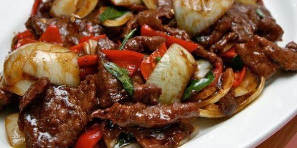 Resep Daging Teriyaki Paprika Nan Lezat dan Empuk