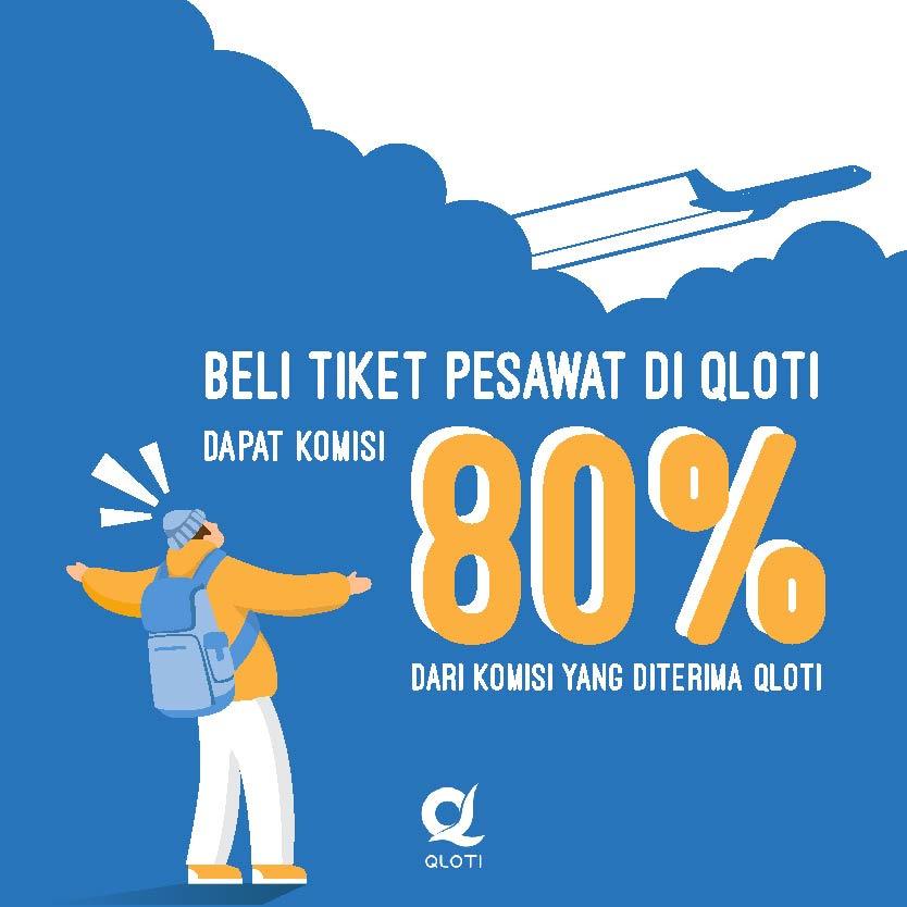 Pesan Tiket Pesawat di Qloti